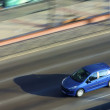 Stockfoto: Blue car