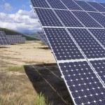 Solar energy field — Stock Photo #11380667
