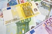 Euro banknoes — Foto de Stock
