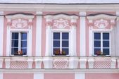Trebon facade — Stock Photo