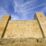 Sadaba castle — Stock Photo