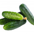 Green cucumbers — Foto Stock #11786151