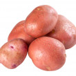 Closeup raw red potato — Stock Photo