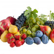 Fresh different fruits — Stock Photo