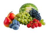Ripe various fruits — Stock Photo