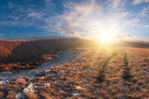 Krajina v horách — Stock fotografie