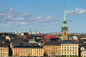 The cityscape of Stockholm — Stock Photo