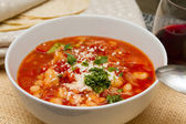 Mexican soup — Stock Photo