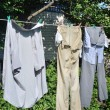 Washed garment — Foto de Stock