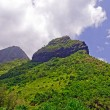 Verdant Peaks on a Tropical Island — Stock Photo