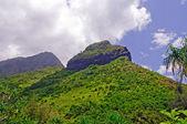 Verdant Peaks on a Tropical Island — Stock Photo
