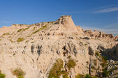Weathered Escarpment in the Badlands — Stock Photo