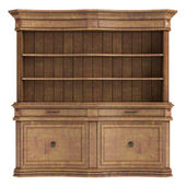 Antique wooden cabinet — Stock Photo