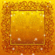 Golden holiday background — Foto de stock #10957485