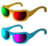 Óculos de sol-proteção — Fotografia Stock
