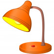 Stock Photo: Table lamp