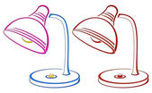 Table lamp — Stock Photo