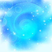 Fondo abstracto azul brillante — Foto de Stock