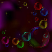 Background, bubbles — Stock Photo