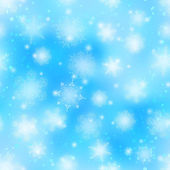 Snowflakes, seamless — Stock Vector