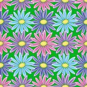 Abstrakt blomma bakgrund — Stockfoto