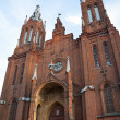 Stock Photo: Old abandoned Catholic church in Smolensk