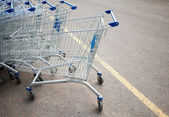 Shopping carts — Foto de Stock