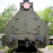 Soviet armored train from WWII period — Stock Photo