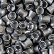 Pile of lead air-gun pellets — Stock Photo #11324823