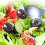Closeup photo of fresh side dish — Stock Photo