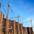 Living houses under construction — Stock Photo #11549901