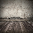 Old dark grunge interior background — Stock Photo