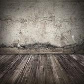 Alte dunkle grunge interior hintergrund — Stockfoto