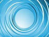3d spirale fond bleu — Photo