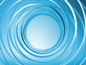 Blue 3d spiral background — Stock Photo