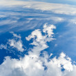 Cloudy sky texture — Stock Photo