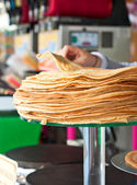 French crepe — Stock Photo