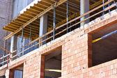 Strukturen för byggnader under bygge — Stockfoto
