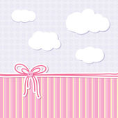 Baby background — Stock Vector