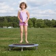 Trampoline Girl — Stock Photo #11454452