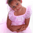 Little Hispanic Girl — Stock Photo