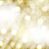 Golden Bokeh — Vector de stock