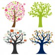 Royalty-Free Stock Vector Image: Big Set Tree
