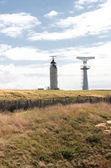 радар и маяк кап гри nez во франции — Стоковое фото