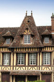 Great and ancient house in Normandy France — Stok fotoğraf