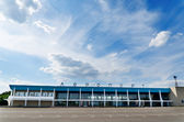Building of airport in Mykolaiv, Ukraine — Stock Photo