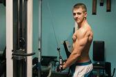 Gym practice — Stock Photo