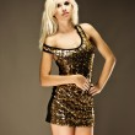 Disco girl — Stock Photo #11965519