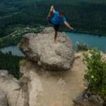 Mountain Yoga - Man Pose 3 — Stock Photo #12325437