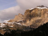 Mountains in Dolomites — Foto Stock
